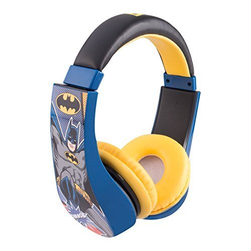 Ninja Turtle / Superman / Batman Kid Safe Over the Ear Headphone w/ Volume Limiter, Styles May Vary by Sakar