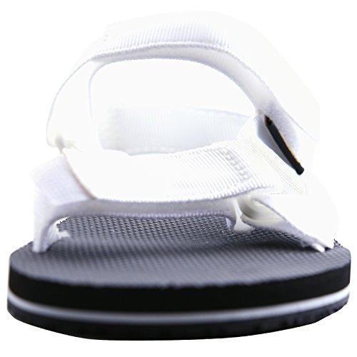 Toesuit Dames Urban Outdoor Walking Velcro Sandaal Wit