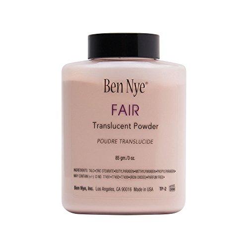 Ben Nye Fair Translucent Powder Shaker Bottle 3 Oz (Powder Nye Set Ben)