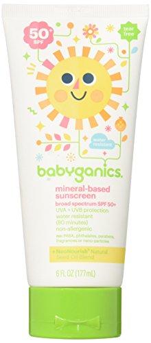 BBY12108EA - Babyganics Mineral-Based Sunscreen Lotion, 50 SPF, 6 oz