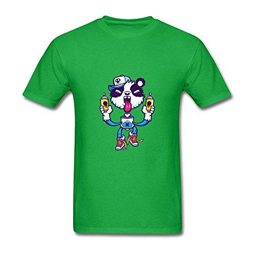 SCShirt Men's Graffiti Panda Sir Custom Short Sleeve Tshirt