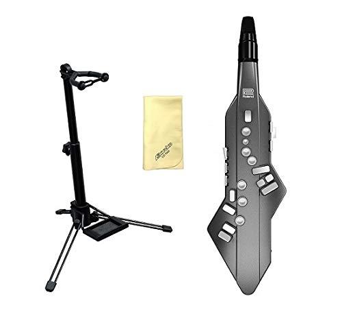 【愛曲クロス付】【スタンド/WSS-100付】Roland Aerophone GO AE-05 Digital Wind Instrument   B07GZ9G2M4