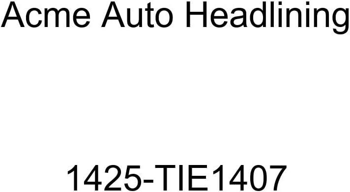 Acme Auto Headlining 1425-TIE1407 Dark Brown Replacement Headliner 1950-51 Chevrolet Styleline Deluxe /& Special 4 Door Wagon 6 Bow