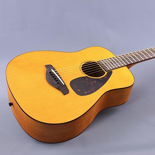 Yamaha JR1 FG Junior 3/4 Size Acoustic Guitar with Gig Bag and Legacy Accessory Bundle - Image 3