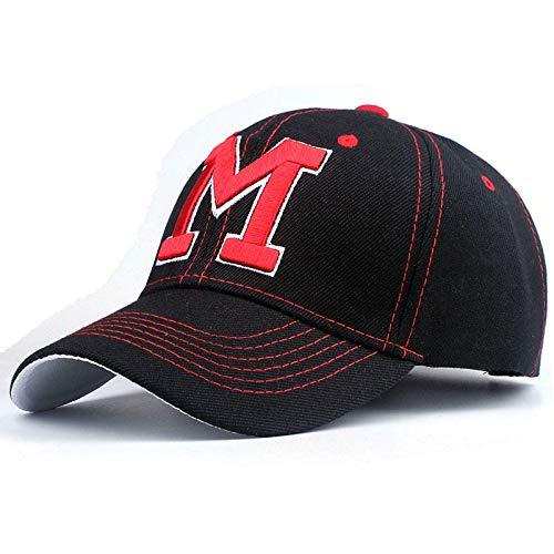 qqyz2323 - Gorra de béisbol para Mujer, diseño de Casquette, Negro ...
