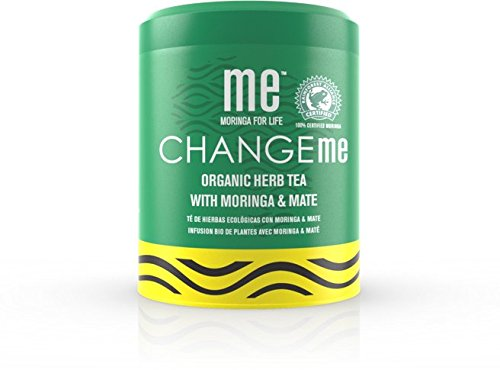 ME Moringa Change Me Organic Herb Loose Leaf Tea with Moringa & Mate, USDA Organic Certified, Non-GMO Verified, 200 Gram