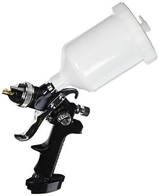 Ingersoll Rand 210G Edge Series Gravity Feed Spray Gun, Black