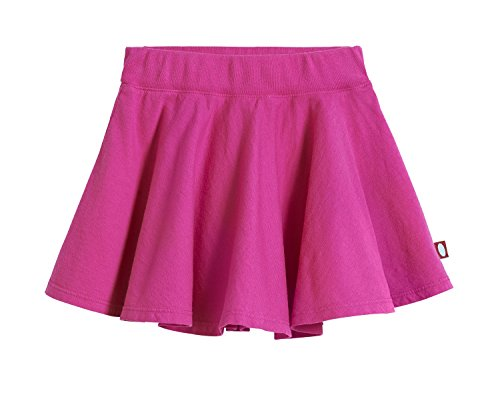 City Threads Little Girls' Cotton Twirly Skirt Perfect for Sensitive Skin / SPD / Sensory Friendly For School or Play Fall/Spring, Hot Pink, Size 6