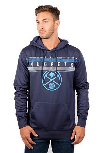 UNK NBA Men's Fleece Hoodie Pullover Sweatshirt Poly Midtown, Team Color, XX-Large ()