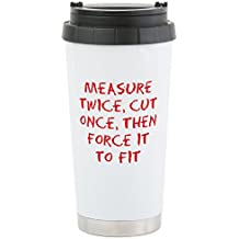 CafePress - Measure Force - Stainless Steel Travel Mug, Insulated 16 oz. Coffee Tumbler