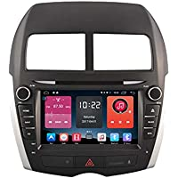 Autosion 8 inch In Dash Android 6.0 Car DVD Player Radio Head Unit GPS Navigation Stereo for Mitsubishi ASX RVR Outlander Sport Peugeot 4008 Support Bluetooth SD USB Radio OBD WIFI DVR 1080P