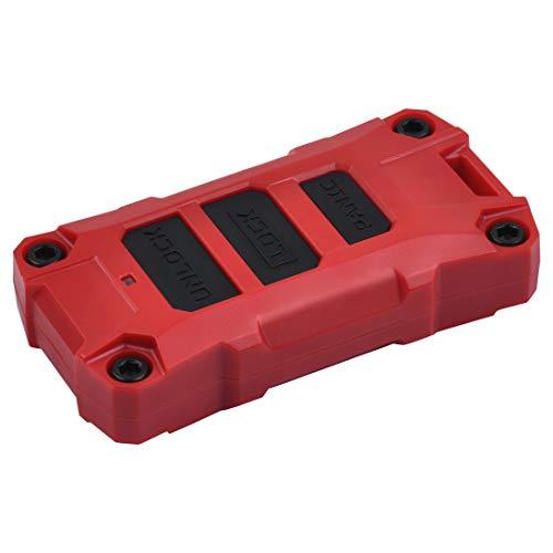 AJT DESIGN Injection Fob Case (Jeep Wrangler JL) RED