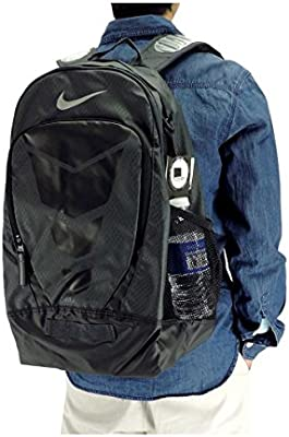 82a34c329f Amazon.com  Nike Max Air Vapor Backpack Anthracite Black Metallic Silver  Day Pack Bags  Computers   Accessories