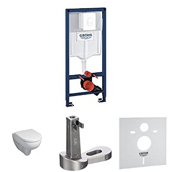 Grohe Rapid Sl Wc 4 In 1 Set Keramag Wand Wc Renova Nummer 1 Grohe