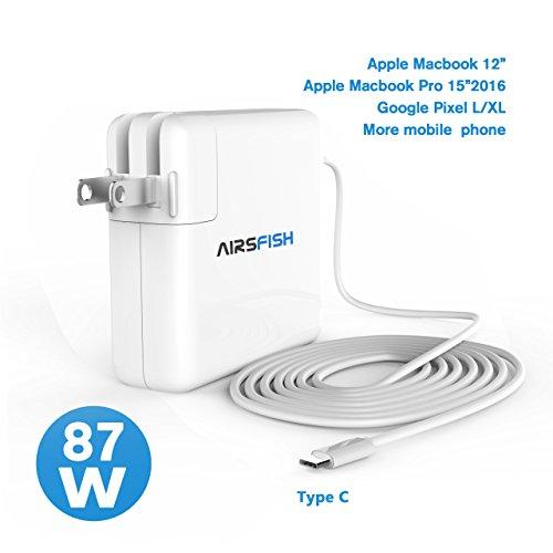 AirsFish 87W Macbook USB-C Power Adapter