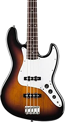 Squier by Fender Affinity Jazz Bass - Rosewood Fingerboard - Slick Silver by Fender Musical Instruments Corp.