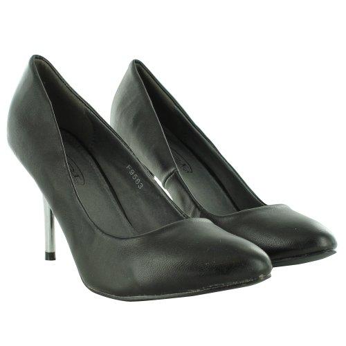 Footwear Sensation - Sandalias de vestir de sintético para mujer negro - black matt
