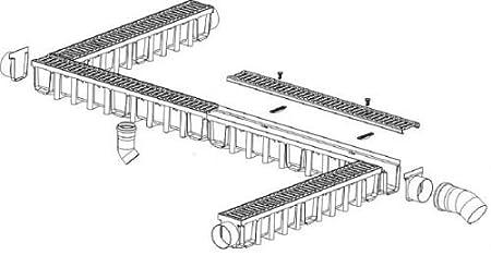 BLP 2-Strang Anschlagkette 2t Verk/ürzungshaken 6mm 1 Meter; Drehbare /öse haken