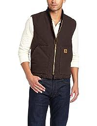 Men's Sandstone Vest Arctic Quilt Lined V02