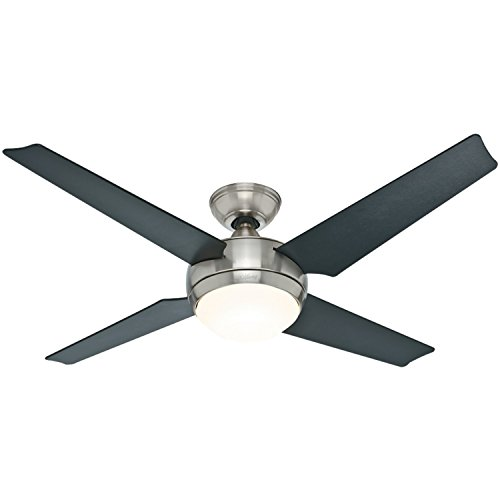 hunter-59072-sonic-52-inch-brushed-nickel-ceiling-fan-with-four-black-maple-blades-and-light-kit