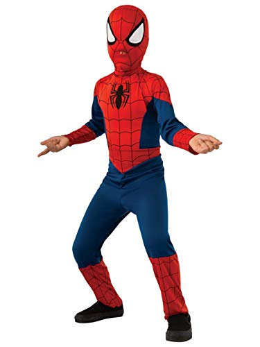 Rubie's Marvel Ultimate Spider-Man Costume, Child Large - Large One Color]()