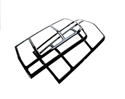 Nicebee 2pcs ABS Chrome Rear Tail Light Tail Lamp Trim Cover fit for Jeep Patriot ()