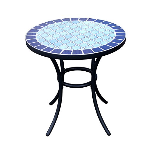 Garden Treasures Pelham Bay Round End Table Review