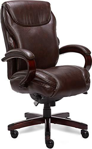 La Z Boy Hyland Executive Office Chair, Brown