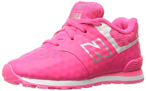 New Balance Kl574cxp M, Zapatillas Unisex Niños rosa/blanco