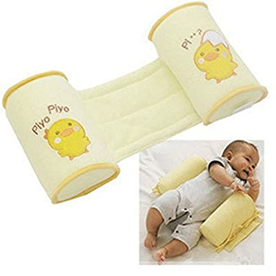 Baby Sleeper Pillow Sleep Positioner-YiGooood Crib Bumper nursing pillow Anti-rollover Memory Foam Cute Cartoon Anti-roll Sleeper Pillow Sleep Positioner Insurance