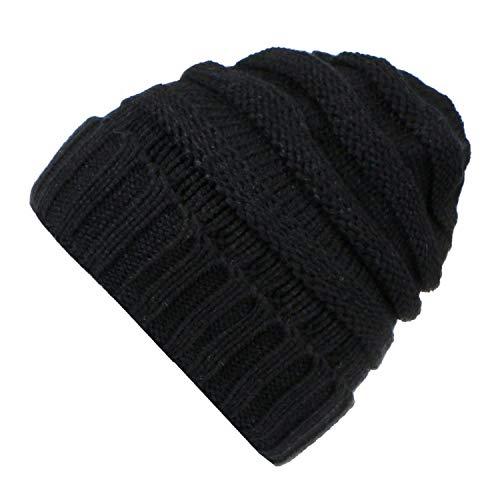 Baby Phat Cap - LONIY Women Winter Knitted Hat Beanies Unisex Casual Hats & Caps Men Solid Hip-Hop Skullies Beanie Warm Bonnet,01