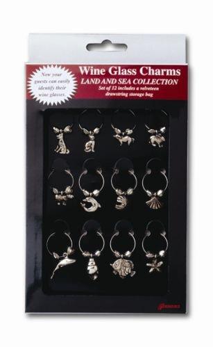 Set Land Wine Glass Charms product image