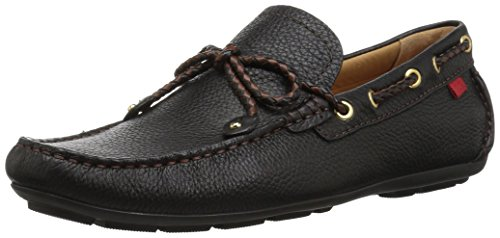 Men's Shoe Driver New Genuine York Grainy Leather Cypress Joseph Marc Hill Black zqFtBB