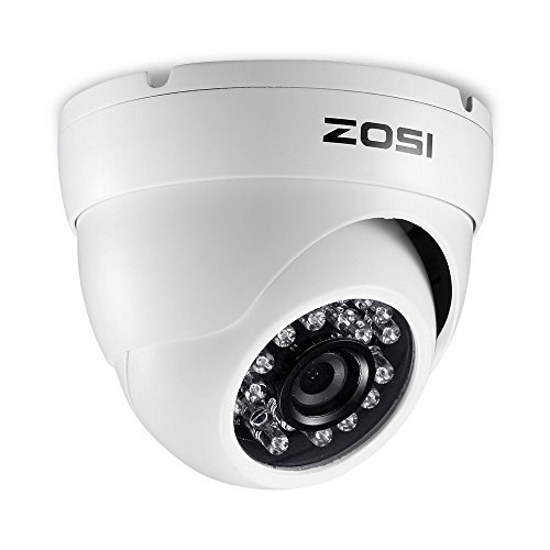 ZOSI 1080P HD-TVI 1920TVL 2.0MP Security Camera 3.6mm Wide A