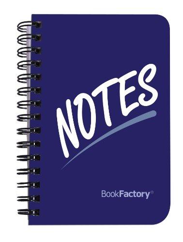 "BookFactory Mini Address Book / Pocket Address Notebook / Small Pocket Sized Address Notebook, 120 pages - 3 1/2"" x 5 1/4"", Durable Thick Translucent Cover, Wire-O Binding (JOU-120-M3CW-A (Address))"