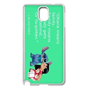 Ohana means family phone Case Cove For Samsung Galaxy NOTE 5 Case Cover APPL8103097