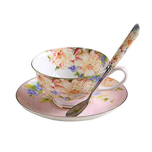 Fine Bone China Tea Set - 5