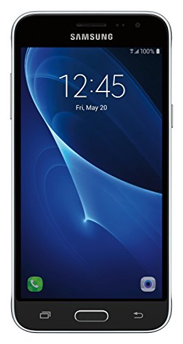 Samsung J3 SM-J320AZKAXAR 16GB Unlocked Phone, U.S.Warranty (Black)