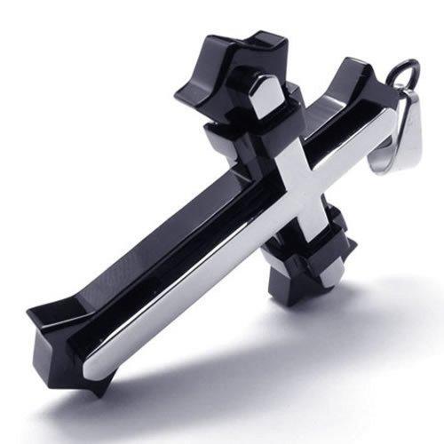 KONOV Stainless Steel Necklace Pendant