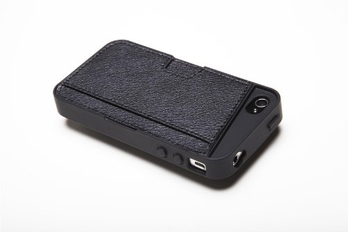 Silk iPhone 4/4S Wallet Case - Q CARD CASE [Slim Protective CM4 Cover] - Black Onyx by Silk (Image #8)