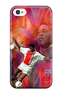 Flexible Tpu Back Case Cover For Iphone 4/4s - Patrick Kluvert