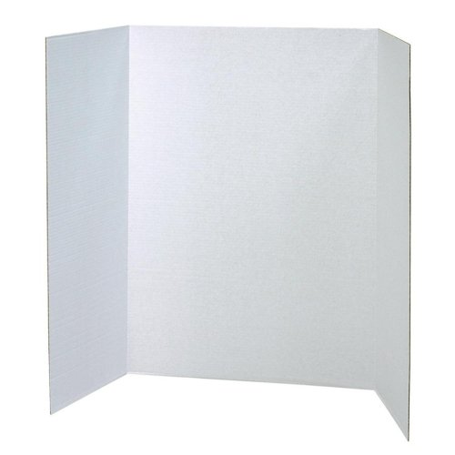 Spotlight Presentation Board, 48 x 36, White, 24/Carton, Sold as 1 Carton PACON CORPORATION