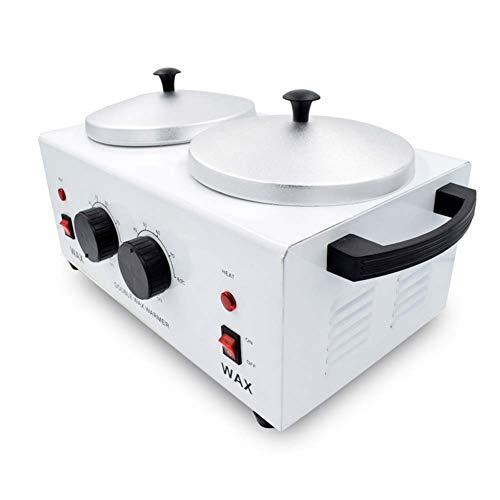 Doble Envase 500ml Calentador de Cera,máquina de depilacion,Máquina de Cera de fusión,Wax Heater,Salón de Belleza