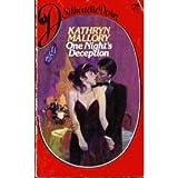 One Night's Deception, Kathryn Mallory, 0671468189
