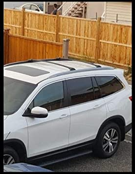 BRIGHTLINES 2016-2018 Honda Pilot Crossbars Roof Racks Black
