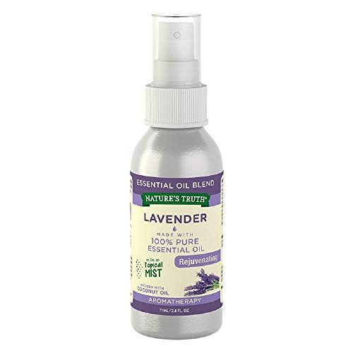 Nature's Truth Lavender Rejuvenating On the Go Hydrating Mist - 2.4 oz, Pack of 4