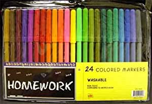 Water Color Markers - 24 Pack Case Pack 48
