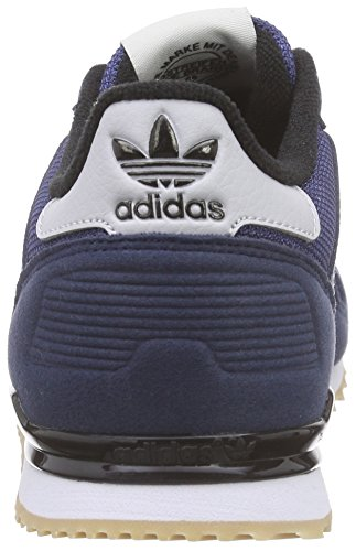 adidas Originals Unisex-Kinder ZX 700 Low-Top Blau (Collegiate Navy/Lgh Solid Grey/Ftwr White)