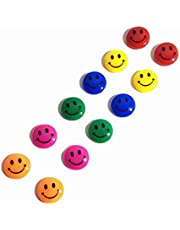 Mounting Magnetic Button Smiling Face for Magnetic White Board - Set of 12 [OS-EQ005-03]