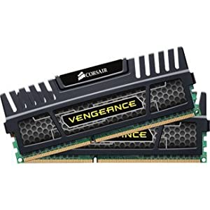 16gb Kit 2x8gb 1600mhz Ddr3 Cl10 Vengeance Blk F/Intel Core I5